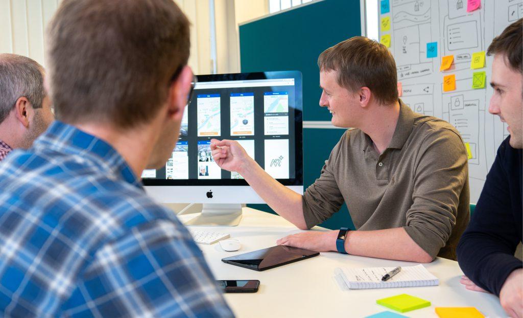 Design sprint prototype demo